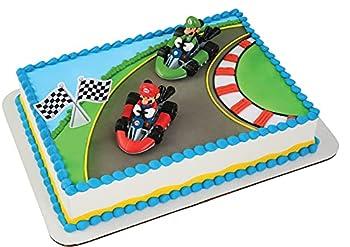 Decopac Super Mario Mario Kart DecoSet Cake Decoration Original Version 2.15  x 3.17