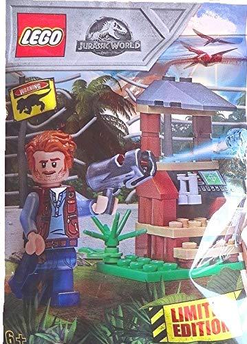 Jurassic World Lego 121802Owen con Observación Publicar Limited Edition