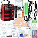 268-Piece Survival Gear Emergency And First Aid Kit