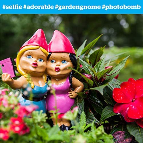 BigMouth Selfie Sisters Gartenzwerg