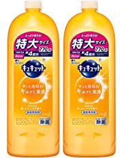 【まとめ買い】キュキュット 食器用洗剤 オレンジの香り 詰め替え 770ml × 2個