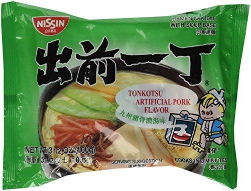 Nissin, Demae Ramen, Tonkotsu Pork, 3.5 oz (Pack of 30)