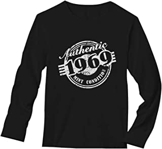 50th Birthday Gift 1969 Mint Condition Long Sleeve T-Shirt
