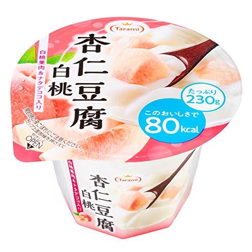 たらみ Tarami 杏仁豆腐 白桃 80kcal 230g × 6個