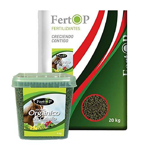 FERTOP Abono Ecológico Orgánico de Caballo en Pellets, 3,5 kg