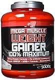 BWG Mega Muscle Weight Gainer 100% Maximum - perfekt für HardGainer und Massephasen – Kraftaufbau...