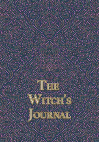The Witch's Journal: The dotted ornament with golden encryption.