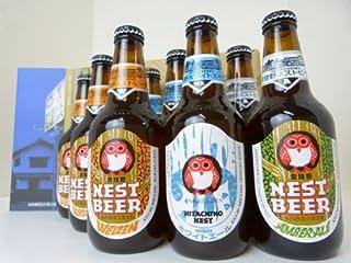 飲み比べセット 地ビール 木内酒造 ネスト ビール ギフト 8本 クラフトビール