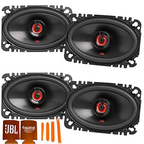 JBL 2-Pairs CLUB-6422FAM 4x6 Two-Way Car Audio Speaker (No Grill)