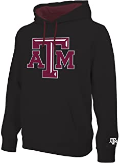 Elite Fan Shop NCAA Mens Hoodie Sweatshirt Black Icon Applique