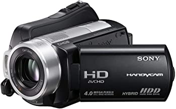 Sony HDR-SR10 4MP 40GB High Definition Hard Drive Handycam Camcorder with 15x Optical Image Stabilized Zoom (Discontinued by Manufacturer) (Renewed)