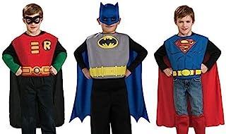 Rubie's DC Comics Boys Action Trio Superhero Costume Set Standard Small Multicolor