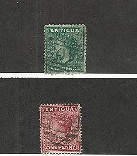 Antigua, Postage Stamp, 7, 8 Used, 1872-73