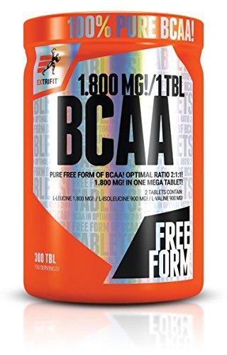 Extrifit BCAA 1800mg Mega Tablets, 300Tablets