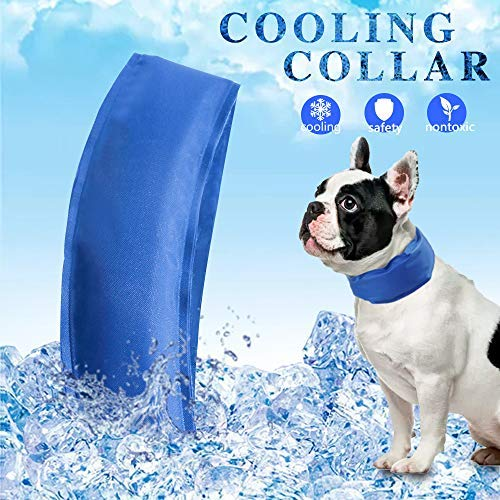 High Tech S-L Cooling without Refrigerator Always Be Cool Ice Cooling Bandana Dog Neck Scarf Chill Out