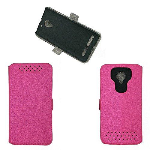 QiongniAN Hülle für Lenovo C2 K10a40 / Vibe C2 hülle Schutzhülle Case Cover Pink