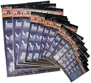 Krystal Seal KS0810 8 in. x 10 in. Seal Self-Healing Art Print and Photo Bags