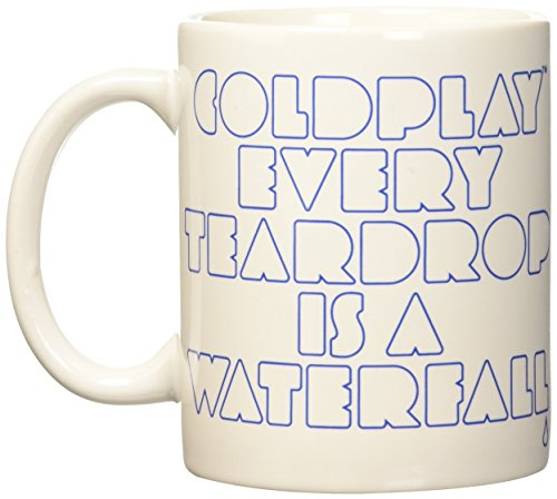 Coldplay - Boxed Mug: Every Teardrop Is A Waterfall - Tasse im Geschenkkarton