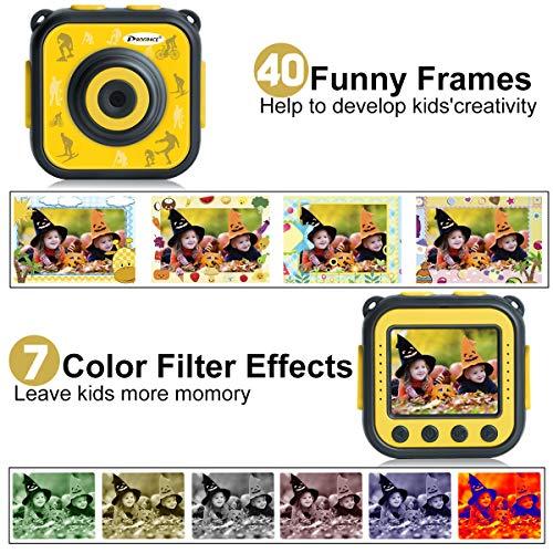 PROGRACE Children Kids Camera Waterproof Digital Action Camera for Boys Girls