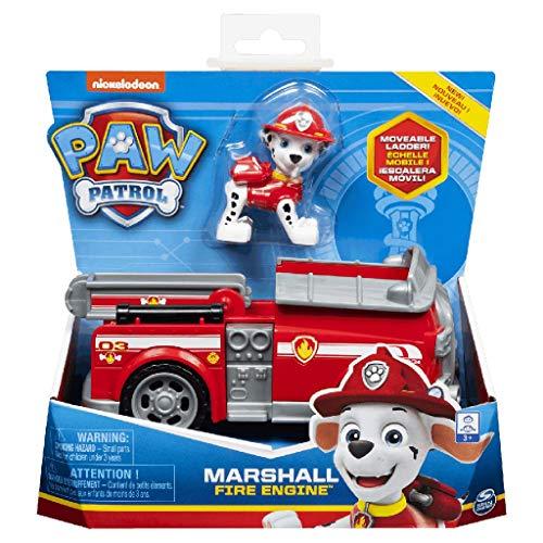PAW Patrol 6054135 - Marshall Feuerwehrfahrzeug und Figur (Basic Vehicle)