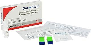 One Step - Prueba rápida de Detección de Anemia o Deficiencia de Hierro en Sangre - Prueba de Ferritina