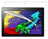 INSOLKIDON 2-Pieza Compatible con Lenovo Tab3 10 Business Tablet Protector de Pantalla Vidrio Templado Transparente 3D Protector 10.1 Inch Lenovo TB3-X70F TB3-X70N (Transparente)