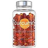 Premium Curcuma Kapseln mit Vitamin D3 - Zutaten Laborgeprüft - NovaSOL Curcumin 185x höhere Bioverfügbarkeit in 1 Kapsel - 500mg Kurkuma Hochdosiert und Vitamin D Tagesbedarf