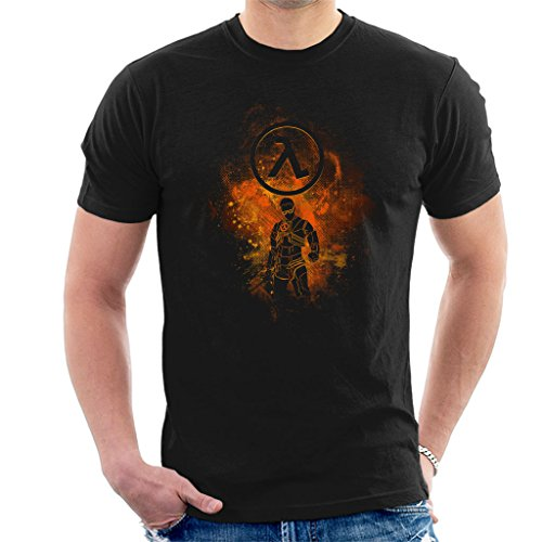 Half Life Gordon Freeman Silhouette Men's T-Shirt