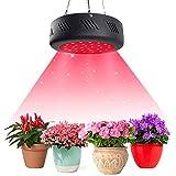 Niello UFO 150w LED Grow Light, Lampada a Luce LED di Colore Rosso, 660nm a Spettro Rosso Completo Utilizzabile per coltivazioni Indoor nelle Fasi di fioritura, maturazione Frutti