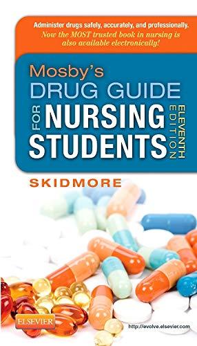 Mosby's Drug Guide for Nursing Students
