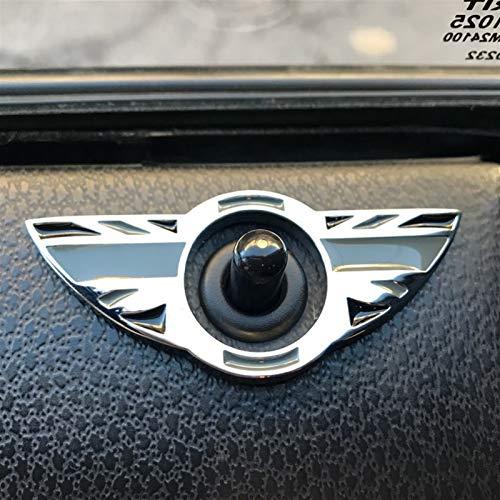 XMSM Voiture Décoratif pour Mini pour Cooper S JCW R50 R52 R53 R55 R56 R57 R58 R59 R60 R61 Voiture Porte Broche Serrure Couverture Autocollants Étui Décor Accessoires