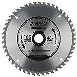 Abracs TCTC165<span class='highlight'>48</span> Ultra Thin Kerf Cordless Circular Saw Blade 165mm x <span class='highlight'>20mm</span> x <span class='highlight'>48</span>T
