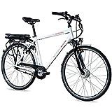 CHRISSON Bicicleta eléctrica E-Gent de 28 pulgadas, para hombre y trekking,...