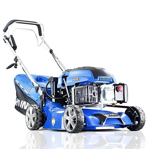 "Hyundai Self Propelled Electric 17"" 43 cm 430mm Petrol Lawn Mower Plus..."