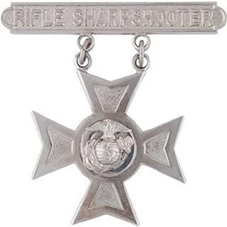 USMC Rifle Qualification Badge - Shiny