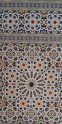 3 Keramikfliesen Wandfliesen Mosaikfliesen marokkanische Fliesen (Granada 706)