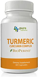 PureNature Turmeric Curcumin Extract Complex (1 Bottle)