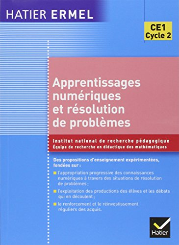 Ermel - Apprentissages numériques et résolution de problèmes CE1