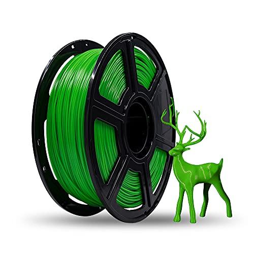 Flashforge Filamento per stampa 3D PLA 1.75mm 1KG/Rotolo per Serie Creator Pro (verde)