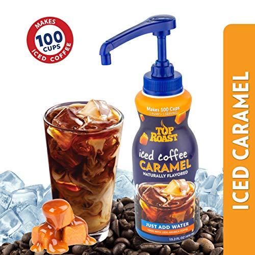 Top Roast CARAMEL Concentrate w/ Microground Liquid Coffee