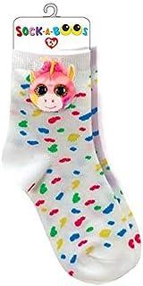 Ty, Fantasia Unicorn Calcetines, Multicolor, One Size para Niñas