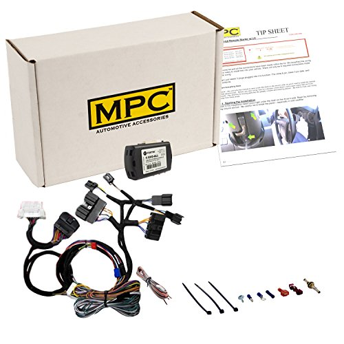 MPC Plug N Play Factory Remote Activated Remote Start for 2007-2010 Ford Edge, 2011-2012 Ford Flex, 2010-2012 Ford Fusion, 2008-2012 Ford Escape