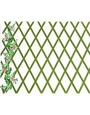 Celosia Extensible de Madera Natural de 1x2 Metros Color