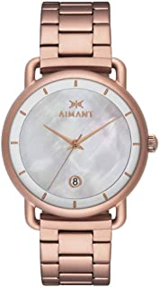 AIMANT Venice Watches | 38 MM Women's Analog Watch | Stainless Steel Bracelet