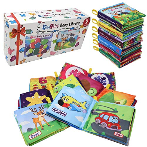 PlayShire Soft Books (0-3Yrs). Activity Crinkle Books,...