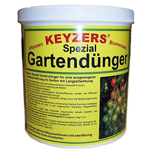 Preisvergleich Produktbild Keyzers Spezial- Gartendünger mit Langzeitwirkung 1, 0 KG
