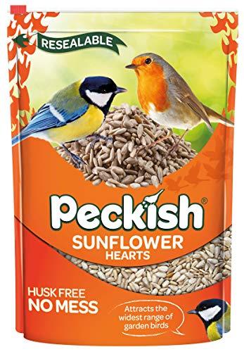 Peckish Sunflower Hearts for Wild Birds, 1 kg