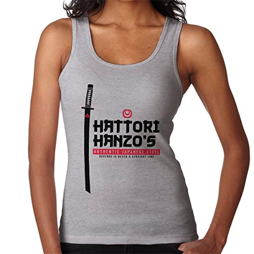Hattori Hanzos Authentic Japanese Steel Kill Bill Women's Vest