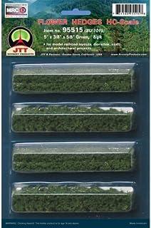 "JTT Scenery Products Flowering Plants Series: Flower Hedges, 5"""