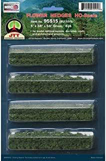 JTT Scenery Products Flowering Plants Series: Flower Hedges, 5""